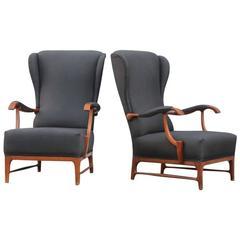 Italian Mid-Century Paolo Buffa Armchairs