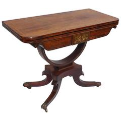18th Century Rosewood Card Table