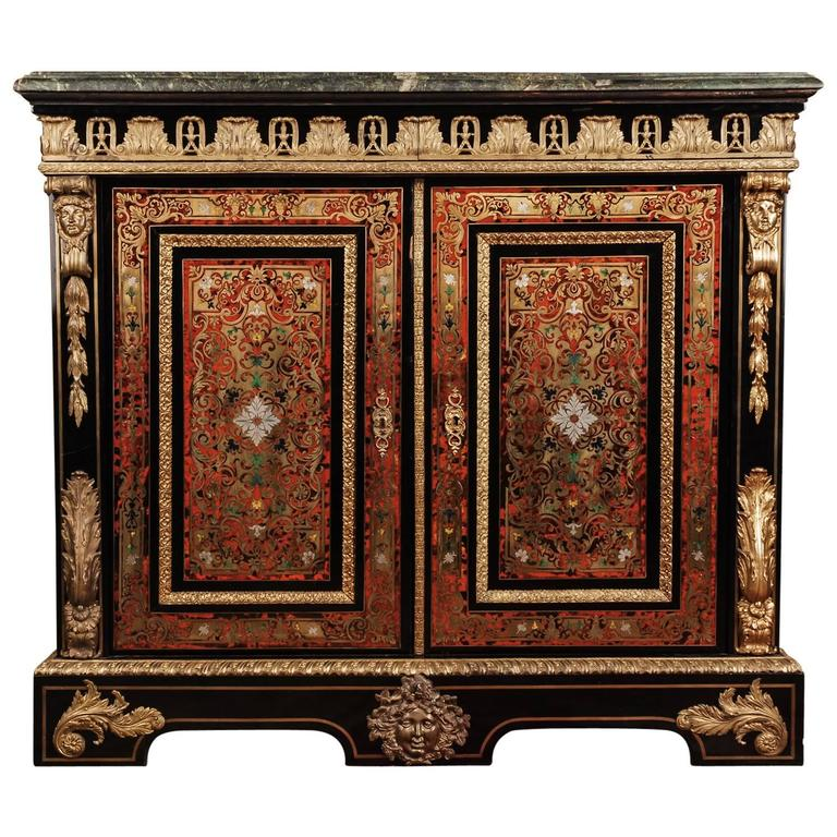 19th century louis quatorze napoleon iii boulle meuble dappui commode