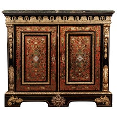 19th Century Louis Quatorze Napoleon III Boulle Meuble D'appui Commode
