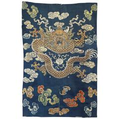 Antique Chinese Textile Robe Panel