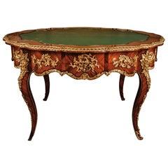 19th Century Louis XV Salon Table Napoleon III Paris