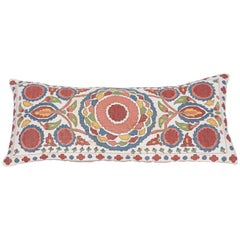 Antique Pillow Made Out of an Early 20th Century Bulgarian Embroidery
