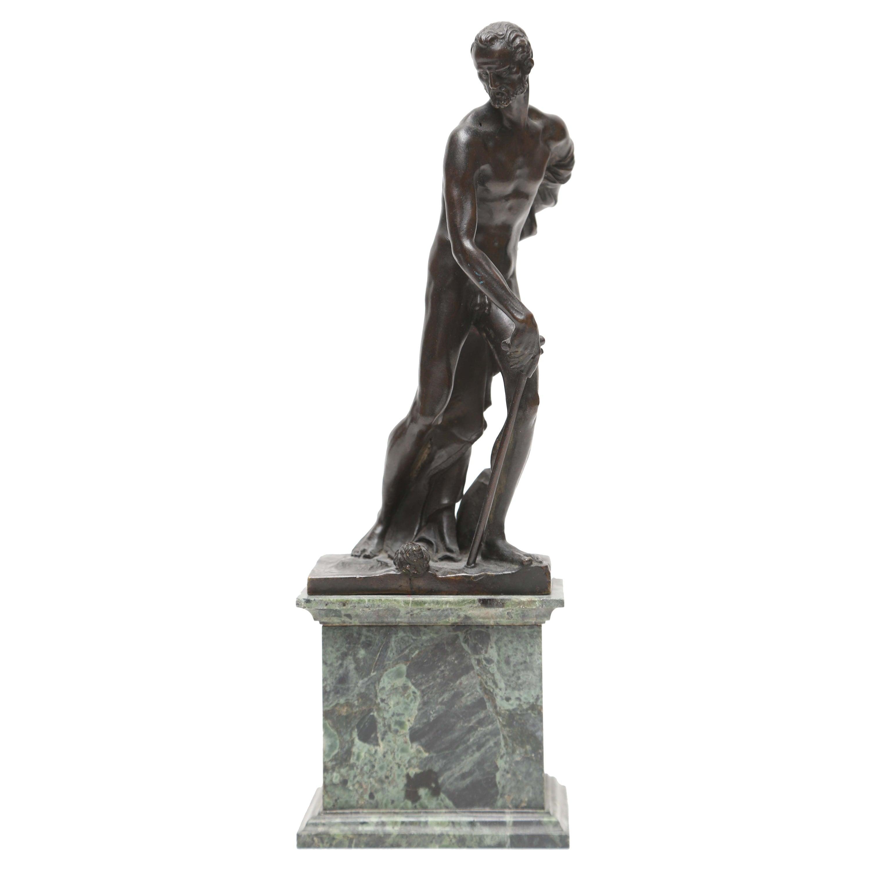 Venetian Bronze Statuette of St. Jerome, 17th-18th Century