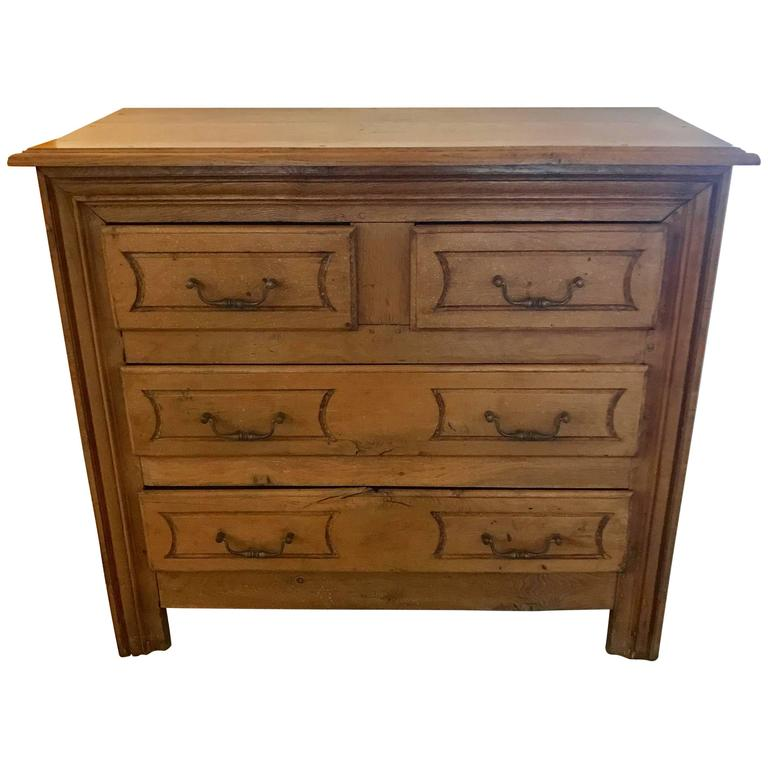 19th Century French Four-Drawer Commode For Sale