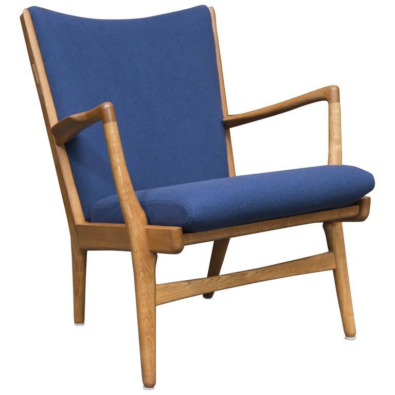 Hans J Wegner Lounge Chair, Model AP 16 For Sale