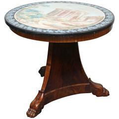 Fine Scagliola Centre Table