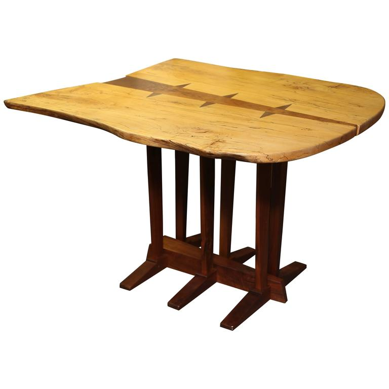 Large Nakashima Inspired Table by Paul Sarochuck 1