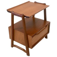 Mahogany Nightstand or End Table by Hickory Manufacturing