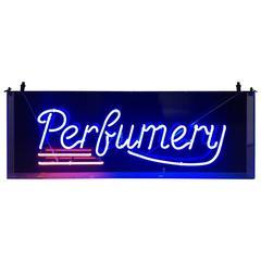 Vintage Neon Perfumery Sign