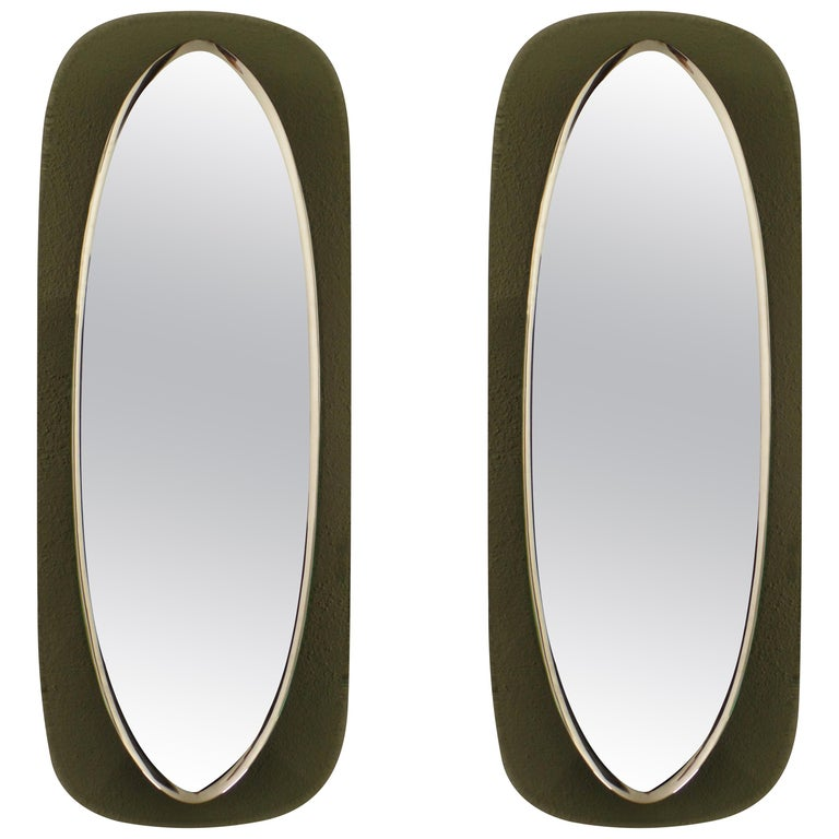 Mirrors in the style of Max Ingrand, 1950, offered by Thomas Gallery Ltd.