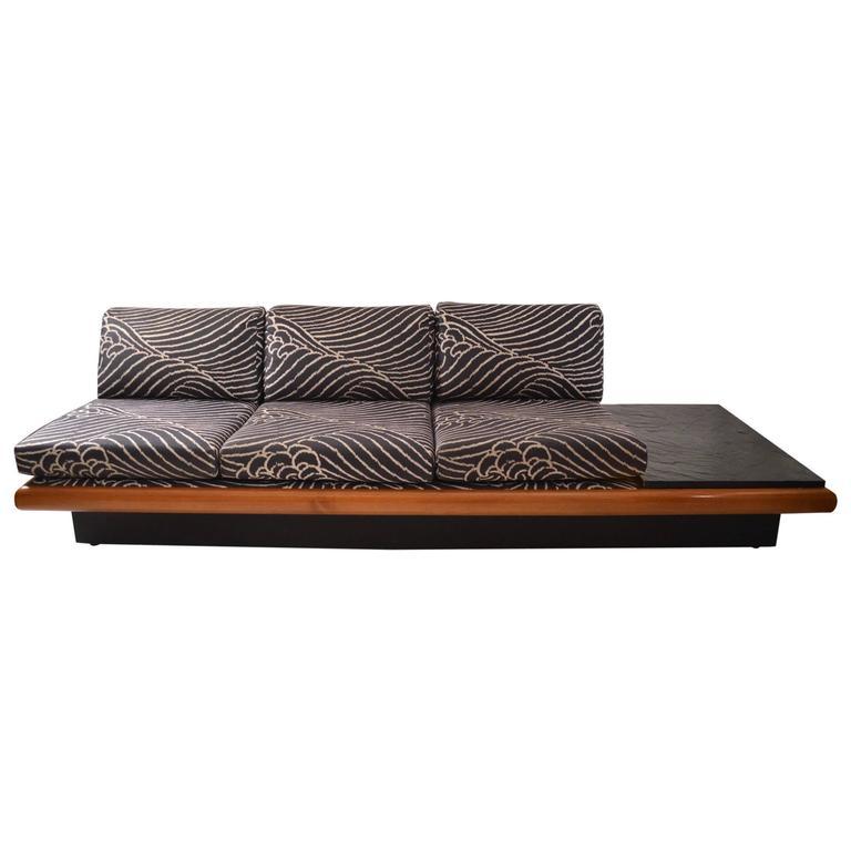 Three-Seat Pearsall Bench Sofa
