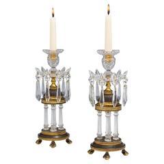 Fine Pair of Georgian Temple Lights