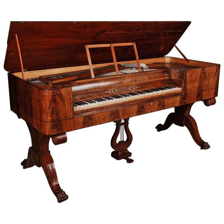 19th Century Biedermeier or Empire Piano Lars P. Cornwall