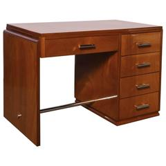 Art Deco Mahogany Desk