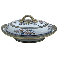 Victorian Ceramic Soup Tureen, 1842-1883