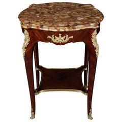 19th Century Napoleon III Louis Quinze Cupboard Table