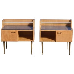 Pair of 1950s Nightstands