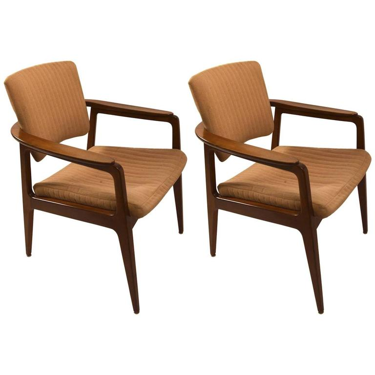 Pair of Sigvard Bernadotte Armchairs