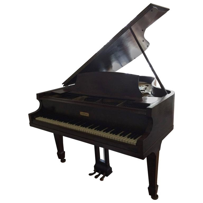 Gorgeous Vintage Baby Grand Piano By Chickering At 1stdibs