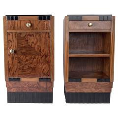 Pair of Art Deco Nightstands