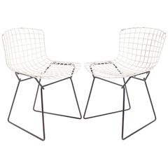 Pair of Child's Chairs by Harry Bertoia for Knoll