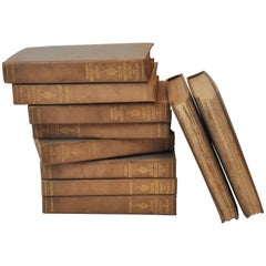 Collection of Poetry Books by James Whitcomb Riley, Late 19th Century