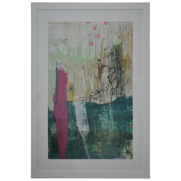 20th Century Greg Dickerson work on paper, Untitled Art For Sale