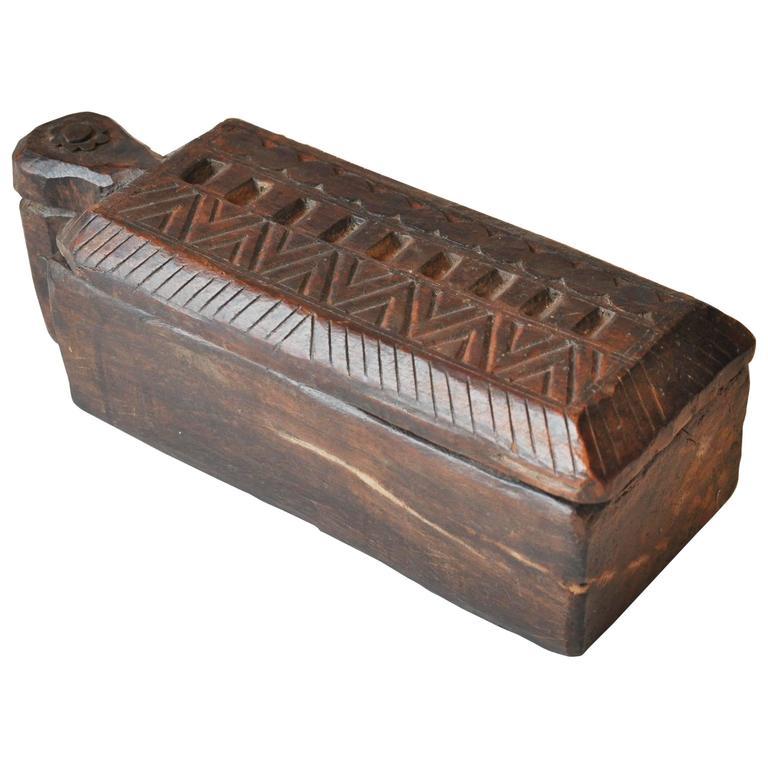 19th Century India Rajasthan Spice Box