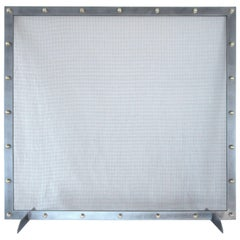 Modern Fireplace Screen