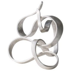 Contemporary Ring in Silver by Jacques Jarrige