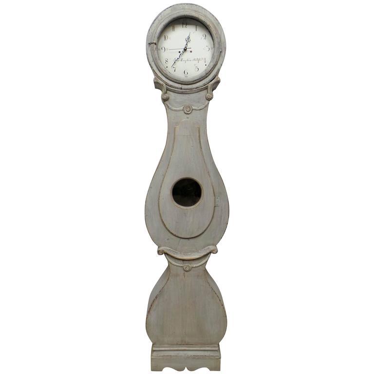 Swedish Long Case Mora Clock