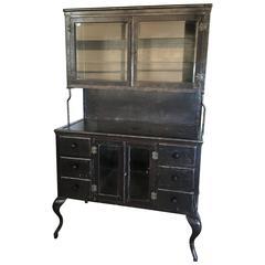 Vintage Medical Metal Cabinet