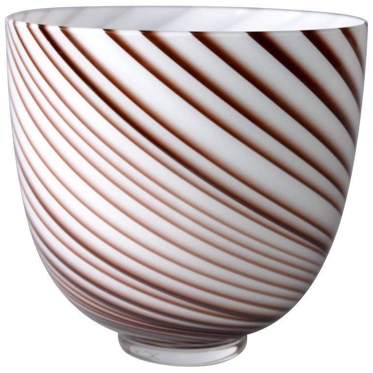 Original Tommaso Barbi Italian Murano Decorative Bowl or Vase