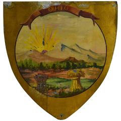 Ohio State Seal, 1889, Hand-Painted