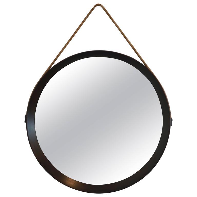 Italian Walnut Mirror 1