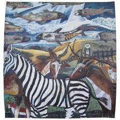 """Peaceable Kingdom Painting by Terry Turrell """"Wildlife"""""""
