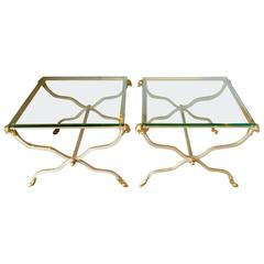 Pair of Jansen-Style Side Tables