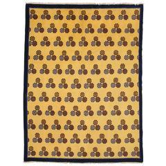 Vintage Ningxia Rug, Cintamani pattern