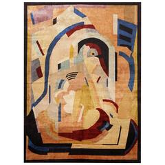 Natural Silk Albert Gleizes Refined Rug