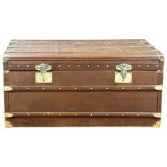 1930s Moynat Steamer Trunk