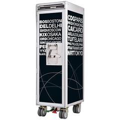 Airport Black Aircraft Bar Trolley Unique Design