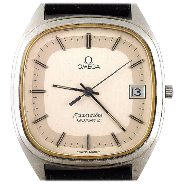 Omega Seamaster Cal. 1332, Vintage Mens Wristwatch, 1970s For Sale