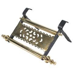 Early 19th Century Brass and Steel Trivet