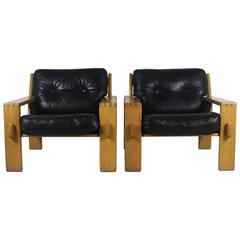 Pair of Danish Armchairs in the Style of Hans Wegner, 1960