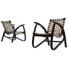Two Jan Vanek Lounge Chairs for UP Zavodny