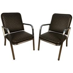 Pair of French Modern Style Armchairs
