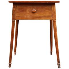 Oversize One Drawer Stand, Cherrywood, circa 1840, American