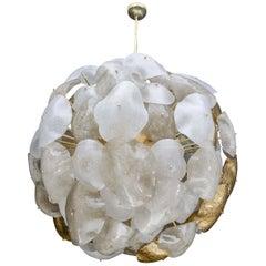 Opulent Murano Glass Sphere Chandelier