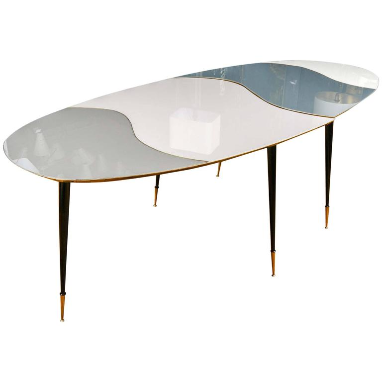 Unique top mirror table at 1stdibs for Creative table tops